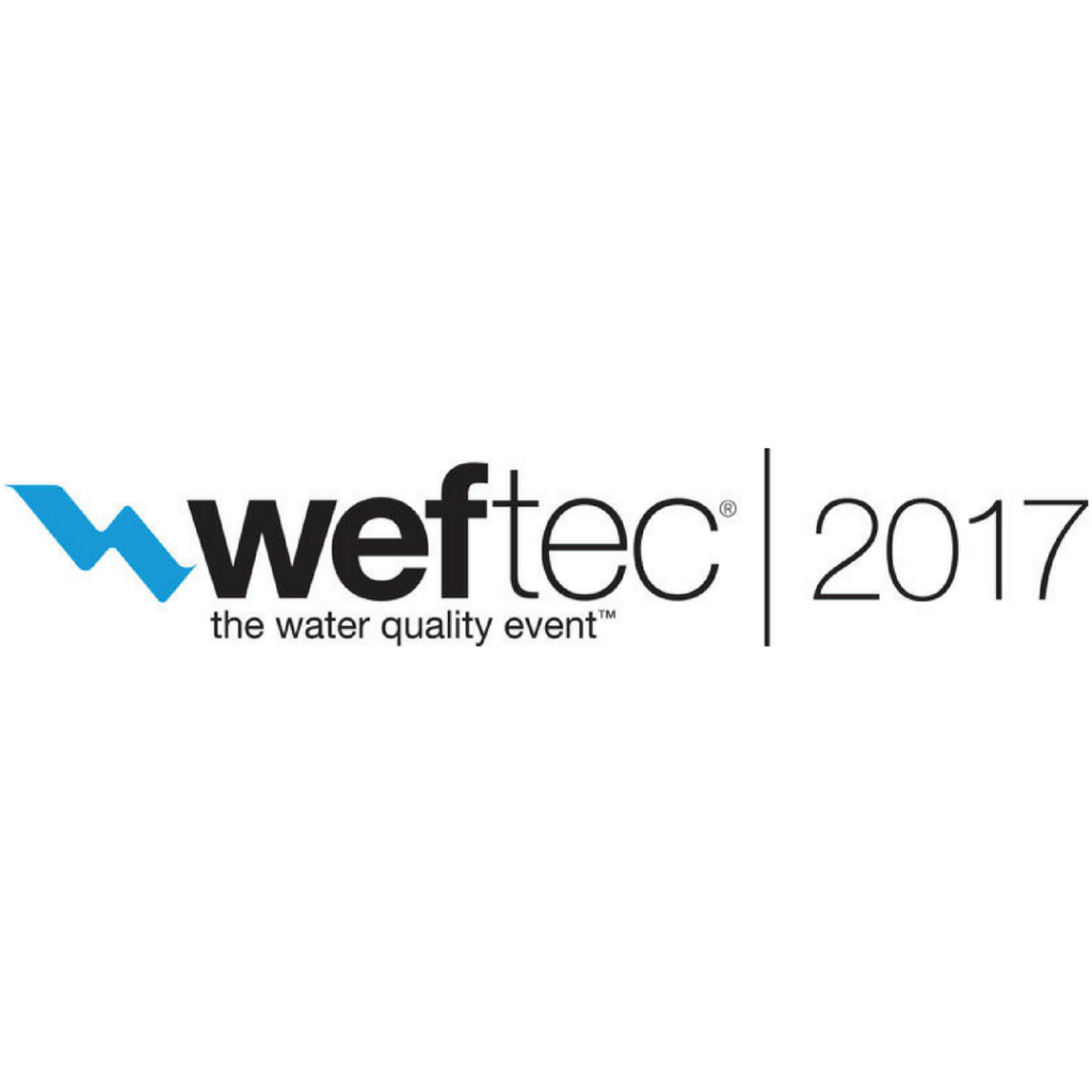 WEFTEC 2017 logo