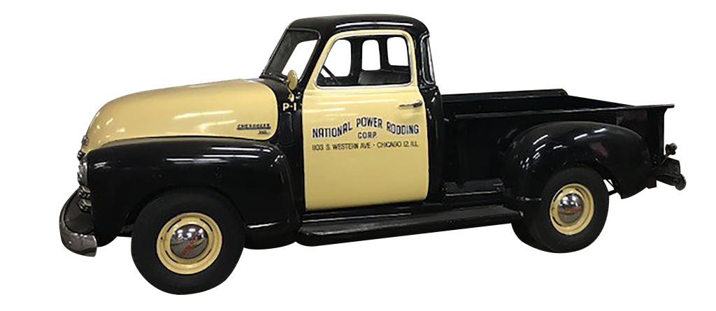 Vintage 1950s Carylon Chevy truck