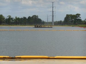 Mobile Dredging & Video Pipe work site